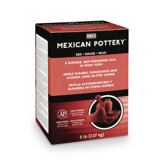 AMACO® Mexican Pottery Self-Hardening Clay - 5-lb. Box