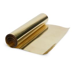 Tooling Brass Foil Roll