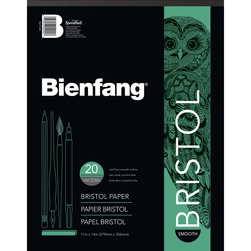 Bienfang #528 Bristol Drawing Paper with Smooth Surface