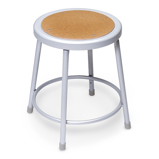 Steel Stationary Stool - Seat Height 30 in. - without Back