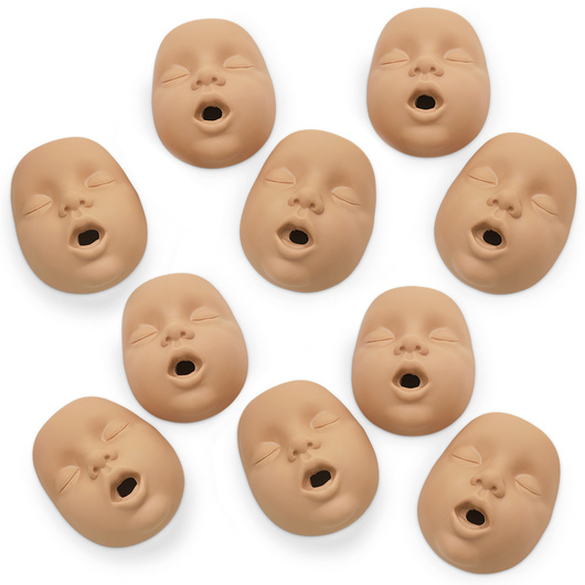 <strong>Simulaids®</strong> Kim™ Infant CPR Manikin Mouth/Nosepieces - Light