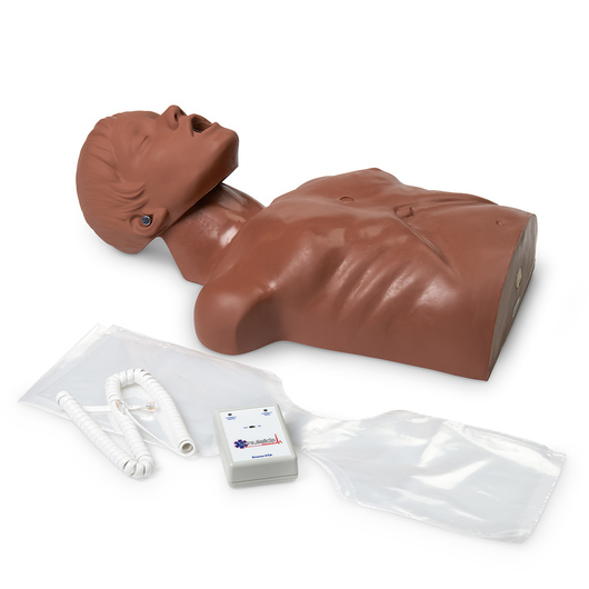 <strong>Simulaids®</strong> Econo VTA (Visual Training Assistant) CPR Trainer - Dark