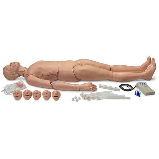 Simulaids Full-Body Trauma CPR Manikin with Electronics