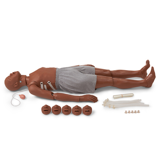 <strong>Simulaids®</strong> Full-Body CPR Manikin - Dark