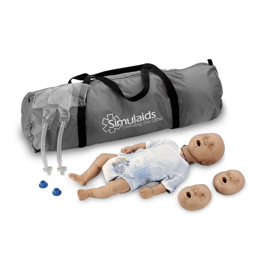 <strong>Simulaids®</strong> Kim™ Infant CPR Manikin with Carry Bag - Light