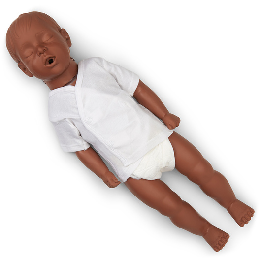 Simulaids®Kevin™ Infant CPR Manikin with Carry Bag - Dark