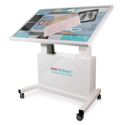 Body Interact™ Multi-Touch Horizontal Table - Adjustable - 55 in.