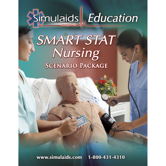 <strong>Simulaids®</strong> Software Nursing Scenario for SMART STAT Patient Simulator