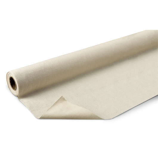 Fine Arts Unprimed Cotton Canvas Roll - 62 in. x 6-yd. Roll