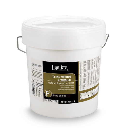 Liquitex® Gloss Medium & Varnish - Gallon