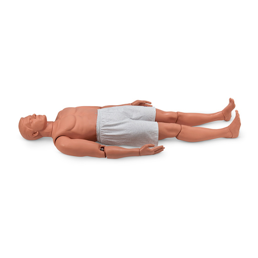 <strong>Simulaids®</strong> Rescue Randy Combat Challenge 165-lb. Weighted Adult Manikin - 55 in. L x 27 in. W x 13 in. D - Light