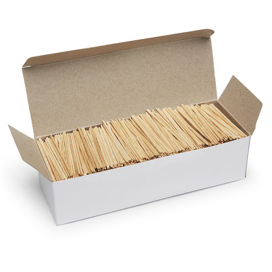 Pacon® Toothpicks - Flat - Box of 2,500