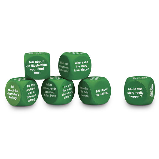 Learning Resources® Retell a Story Cubes - Set of 12