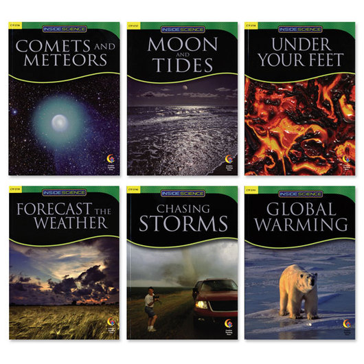 Inside Science Readers - Earth and Space Science Book Set