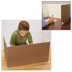 Corrugated Study Carrel
