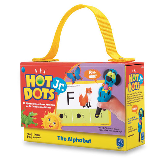 Hot Dots® Jr.™ Card Set - The Alphabet