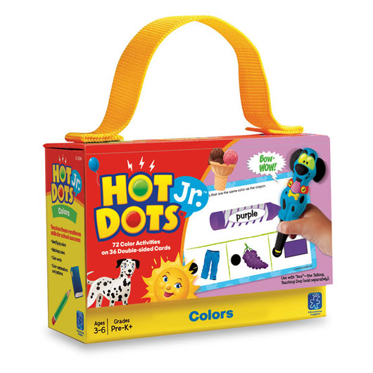 Hot Dots® Jr.™ Card Set - Colors