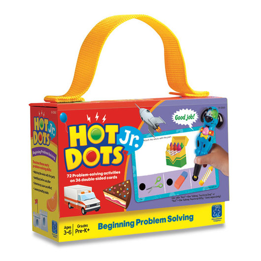 Hot Dots® Jr.™ Card Set - Beginning Problem Solving