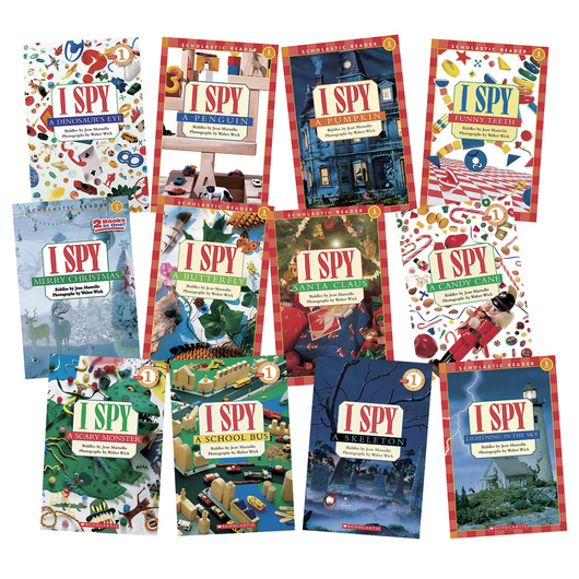 I Spy Sight Word Series Level 1 - Set of 12