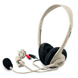 Multi-Media Stereo Headphones with Microphone