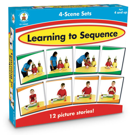 Learning to Sequence Cards - 4-Scene Sets
