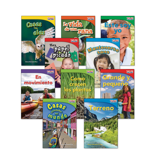 TIME for Kids® Nonfiction Readers Spanish Set 2, Grade 1