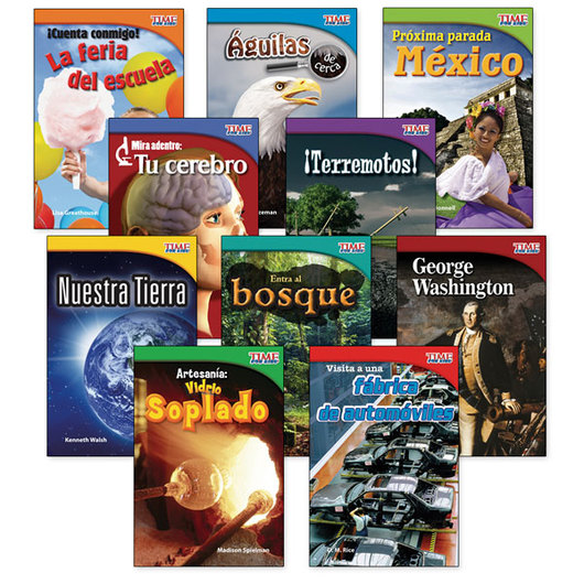 TIME for Kids® Nonfiction Readers Spanish Set 1, Grade 2