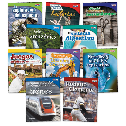 TIME for Kids® Nonfiction Readers Spanish Set 2, Grade 3