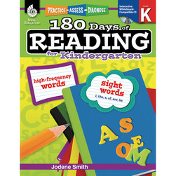 Practice, Assess, Diagnose: 180 Days of Reading, Grade K