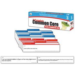 The Complete Common Core State Standards Kit, Grade 3