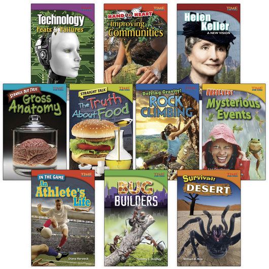 TIME for Kids® Nonfiction Readers - Grade 4, Set 1