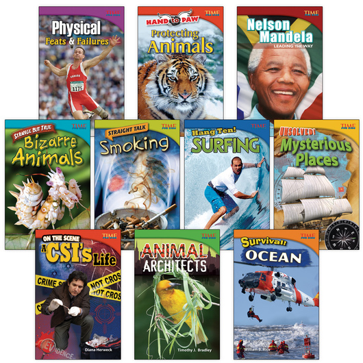 TIME for Kids® Nonfiction Readers - Grade 4, Set 2