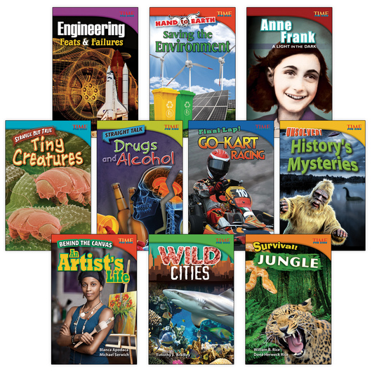 TIME for Kids® Nonfiction Readers - Grade 4, Set 3