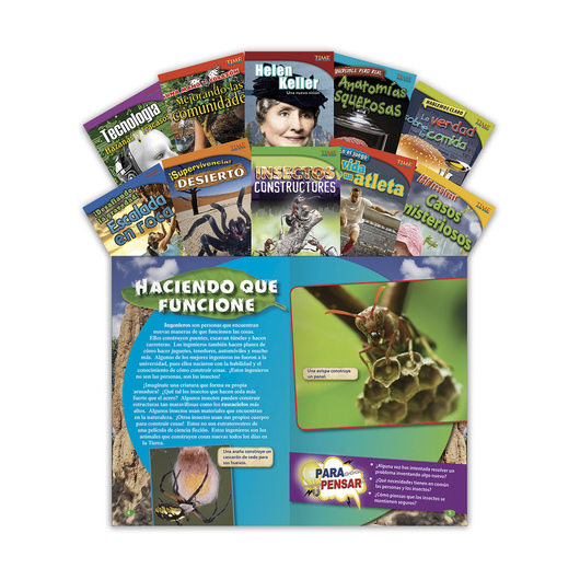 TIME for Kids® Nonfiction Readers Spanish Set 1, Grade 4