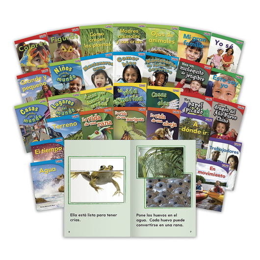 TIME for Kids® Nonfiction Readers Spanish Complete Set, Grade 1