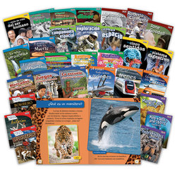 TIME for Kids Nonfiction Readers, Spanish for Grade 3