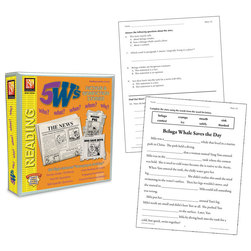 5 Ws Fiction and Nonfiction Binder