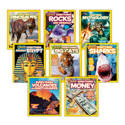 National Geographic Kids Everything Series Set 1
