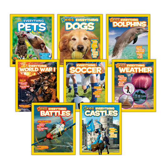 National Geographic Kids Everything Series Set 2