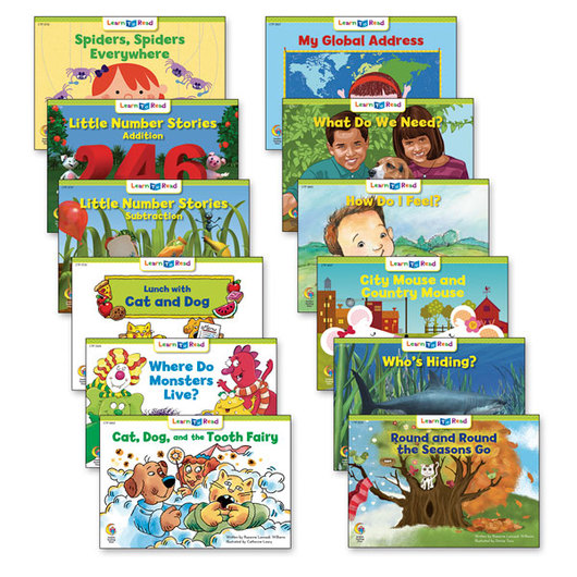 Learn to Read Books - Level D Set 2 (6 each of 12 titles)