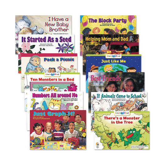 Learn to Read Books - Level F Set 2 (6 each of 12 titles)