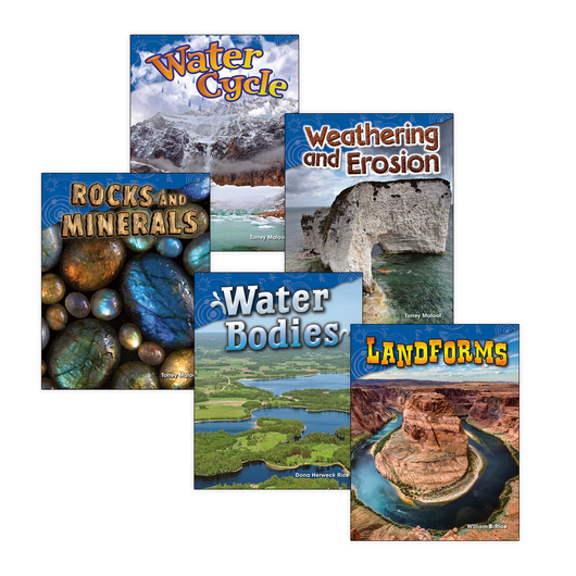 Earth and Space Science Book Set - Grade 2 - Set of 5