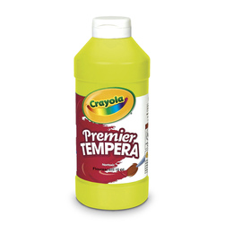 Crayola Premier Fluorescent Tempera Paint, Pint
