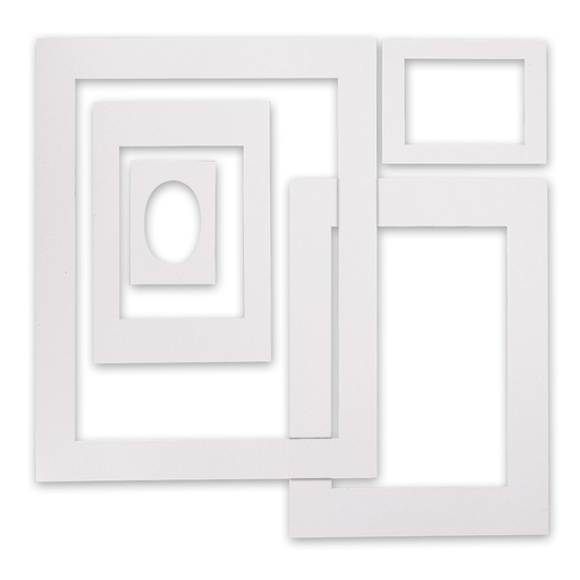 Inovart Assorted Mat Frames - Pkg. of 60