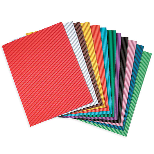 Pacon® Corobuff® Sheets - Pkg. of 12 - 12 in. x 16 in.