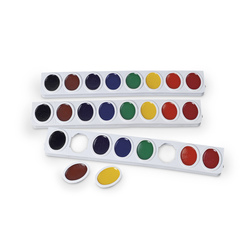PRANG WaterColor Refill Trays, Oval