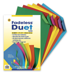 Pacon Fadeless Duet Art Paper