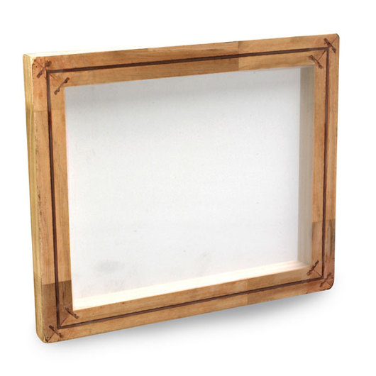 A.W.T. Mounted Screen Printing Frame - 8 in. x 10 in. (I.D.)