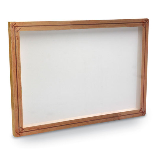 A.W.T. Mounted Screen Printing Frame - 12 in. x 18 in. (I.D.)
