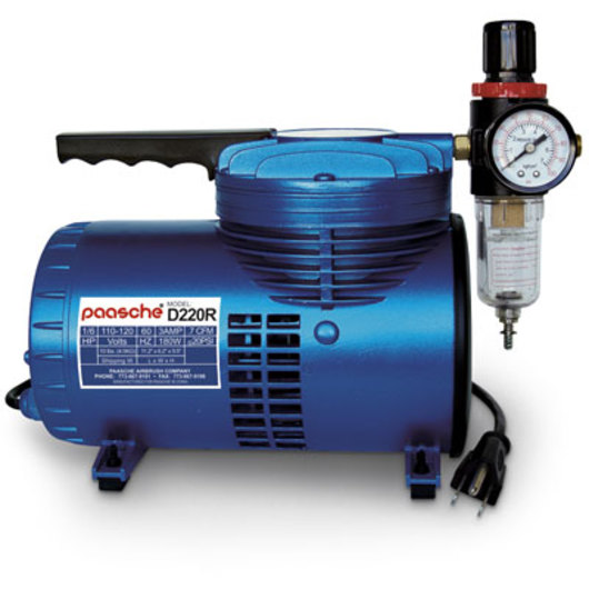 Paasche D220R Air Compressor